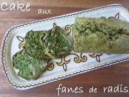 cuisiner les fanes de radis mon cake aux fanes de radis la cuisine de quat sous