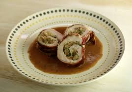 a small but special thanksgiving turkey rolls with bacon apple and