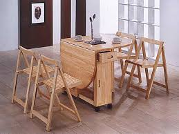 Folding Dining Table With Chair Storage Charming Folding Dining Room Chairs With Folding Dining