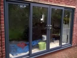 Upvc Sliding Patio Doors Anthracite Grey 4 Pane Upvc Sliding Patio Doors Slider In