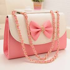 bags of bows adorable pink bow knot messenger bag on luulla foodie