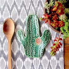 asian cactus ring holder images Gift guide gifts for cactus lovers pinterest spoon rest jpg