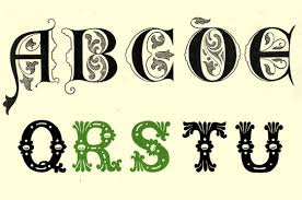 inspiring examples of decorative vintage lettering creative