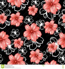 seamless pattern with on background vector