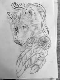 indian wolf drawing drawing pinterest indian wolf wolf and