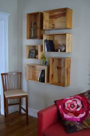 Shelves On Wall by 29 Best Fruit Crate Ideas Images On Pinterest Fruit Crates