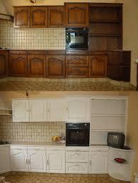 repeindre cuisine en bois repeindre cuisine en chene massif repeindre sa