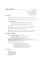 sample music resume for college application 100 academic resume template for college resume for college