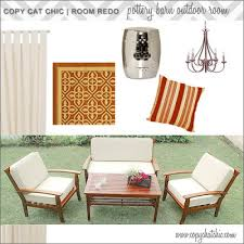 Jcpenney Outdoor Rugs Pottery Barn Outdoor Room Copycatchic