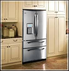 kitchen elegant counter depth refrigerator vs standard ideas
