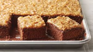 easy german chocolate sheet cake recipe tablespoon com