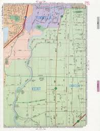 Bremerton Washington Map by Kent Map