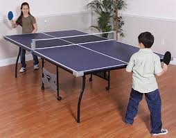 portable ping pong table sportcraft anywhere portable ping pong set the green head