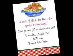 Dinner Party Invitation Card Italian Dinner Party Invitations Disneyforever Hd Invitation