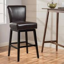 Black Leather Bar Stool Counter Height Barstools Costco