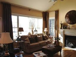 living room curtain panels bronze silk curtain panels traditional living room nashville