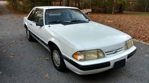 mustang for sale by owner 1989 ford mustang white 74k notchback fox 1 owner for sale