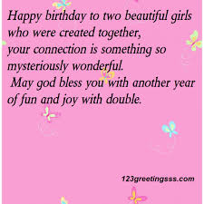 happy birthday nieces download free birthday wishes for twins boys and girls the