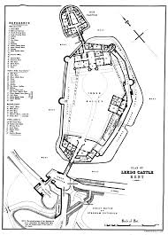 arundel castle floor plan leeds castle plan by e stanford the history and description of