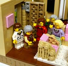 the golden girls a lego makeover