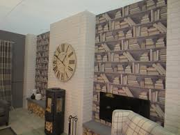 Living Room Wallpaper Ideas Feature Wall Wallpaper Ideas Living Room At Home Interior Designing