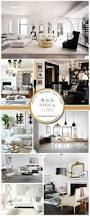 black white and gold decor is like a classic lbd for the living