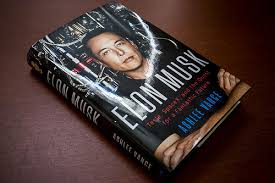 biography book elon musk elon musk tesla spacex and the quest for a fantastic future by