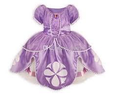 quality retail 1pic frozen dress sofia princess fluffy dress