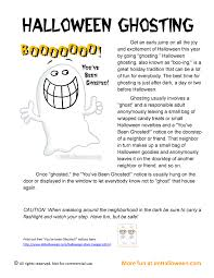 learn more about the great halloween tradition of ghosting and