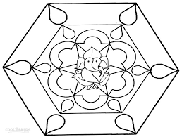 Diwali Coloring Pages For Kids Printable Rangoli Coloring Pages For