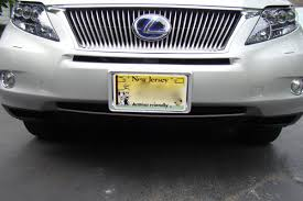 used lexus rx 350 new jersey 2010 rx 350 front license plate holder page 2 clublexus