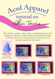 acnl hair color guide found the time to make a tiny tutorial this one animal