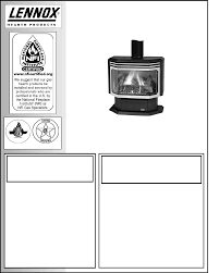 lennox hearth indoor fireplace l30 dvf 2 user guide