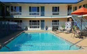 at the beach pacific crest hotel santa barbara california