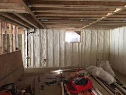 Spray Foam Insulation For Basement Walls by Coastal Insulation Insulation Services Photo Album 1st And 2nd