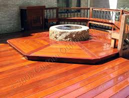 deck fire pits for wooden decks deck design and ideas