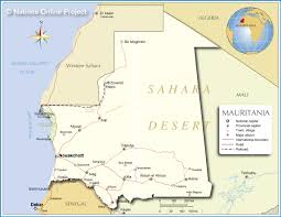 World Map Of Deserts Map Of Mauritania Nations Online Project