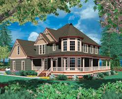 house with wrap around porch victorian with wraparound porch 69044am architectural designs
