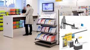 bureau de poste 1er la poste ligna contract furniture experts