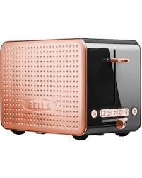 Orange Kettle And Toaster Spectacular Deal On Bella Dots 2 0 Toaster Black Copper