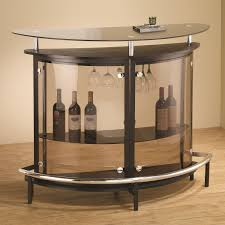 coaster bar units and bar tables contemporary bar unit with smoked