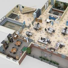 office space 4 highly detailed architectural plans of your