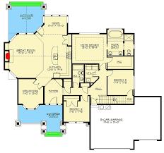 Floor Plans With 3 Car Garage Rambler With 3 Car Garage 23382jd Architectural Designs