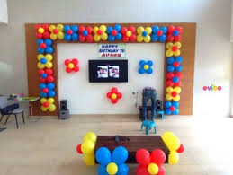 Home Balloon Decoration Best Simple Balloon Decorations Birthday Decorations In Bangalore