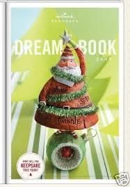 hallmark 2008 book keepsake ornament catalog