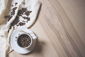 Top Of Coffee Cup Coffee Beans In A Coffee Cup Free Stock Photo Download Picjumbo