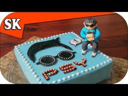 psy gentleman gangnam birthday cake hope you like my psy cake in