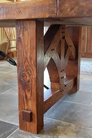 Wood Dining Room Best 25 Wood Table Bases Ideas On Pinterest Diy Table Legs