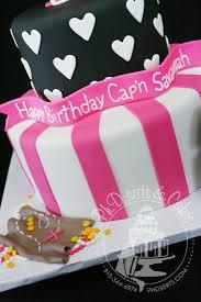 Pirate Cake Decorations Pink Pirate Birthday Party Ph D Serts U0026 Cakes