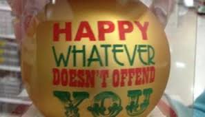 atheist banned from saying happy holidays christian